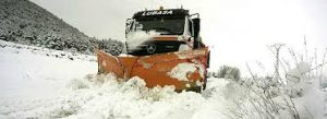 40 provincias están en alerta por nieve y viento -2