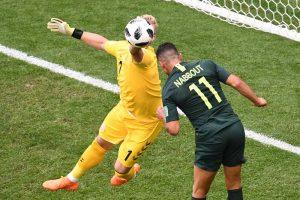 Dinamarca 1-1 Australia